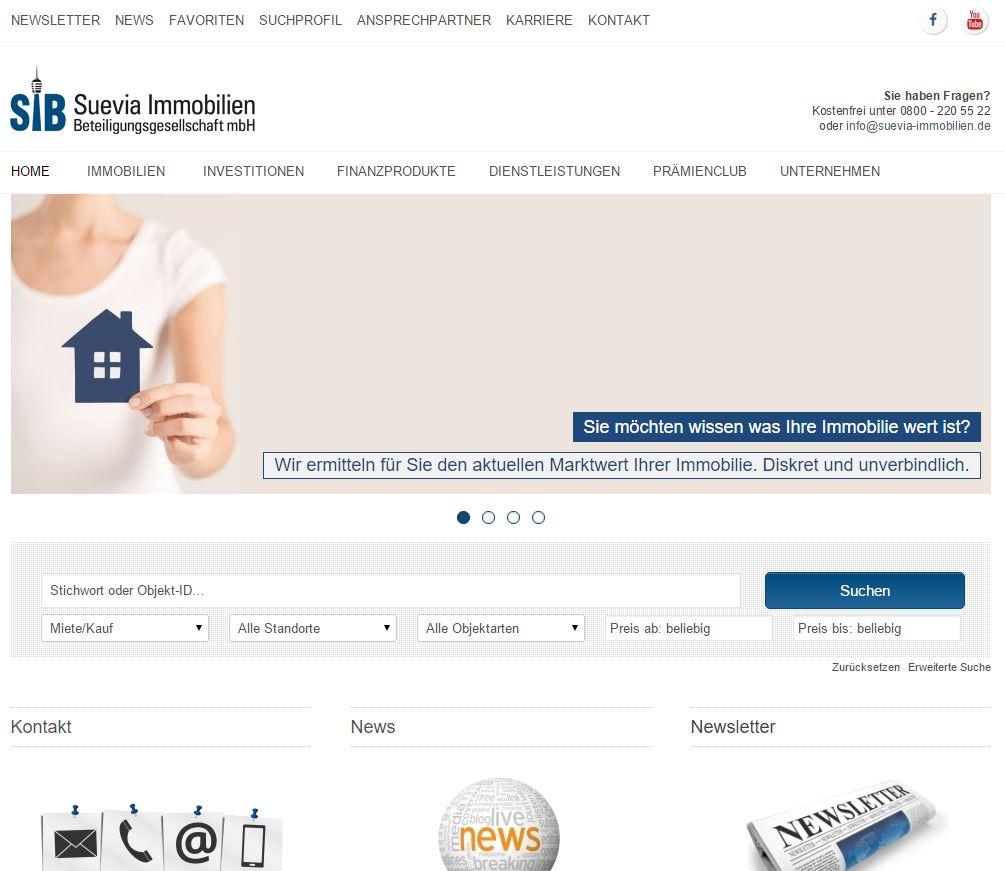 Newsletter - Suevia Immobilien